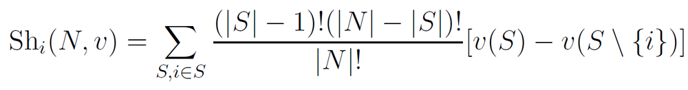 The Shapley Value Formula