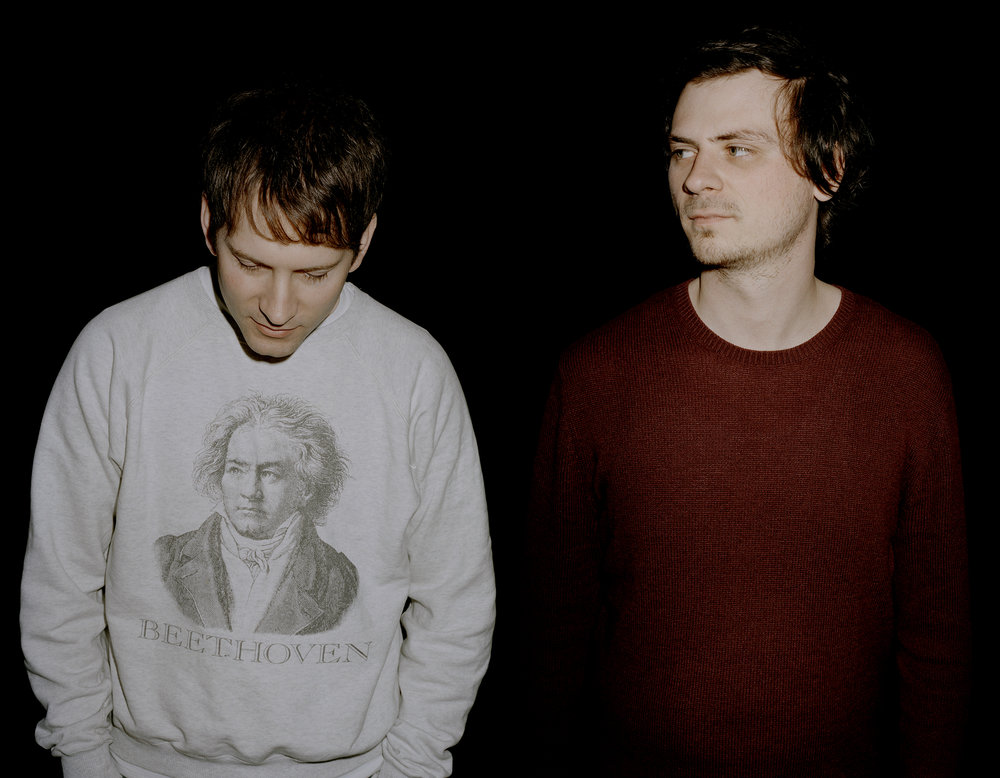 The founders: DJs Tom Bioly & Benjamin Fröhlich