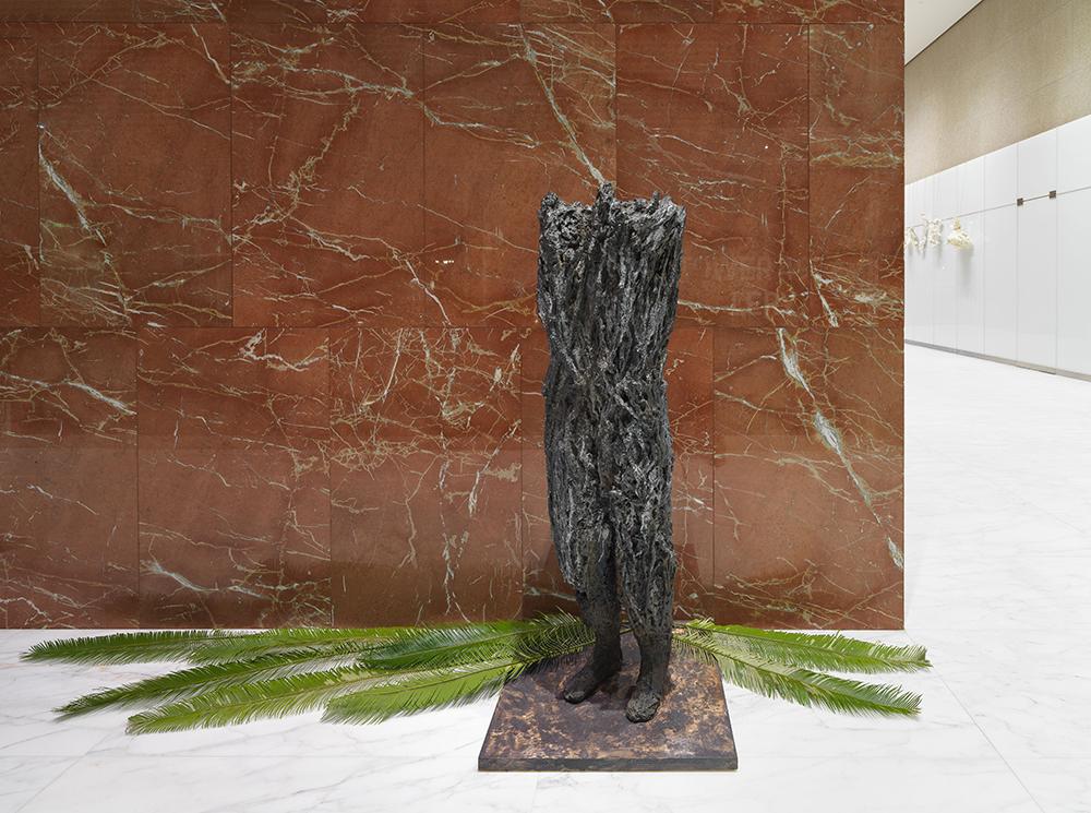 Mana, 2015, Cast bronze, ed 1/3, 70 x 30 x 21 inches