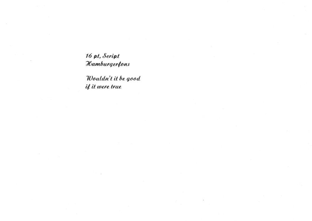 16pt. Script