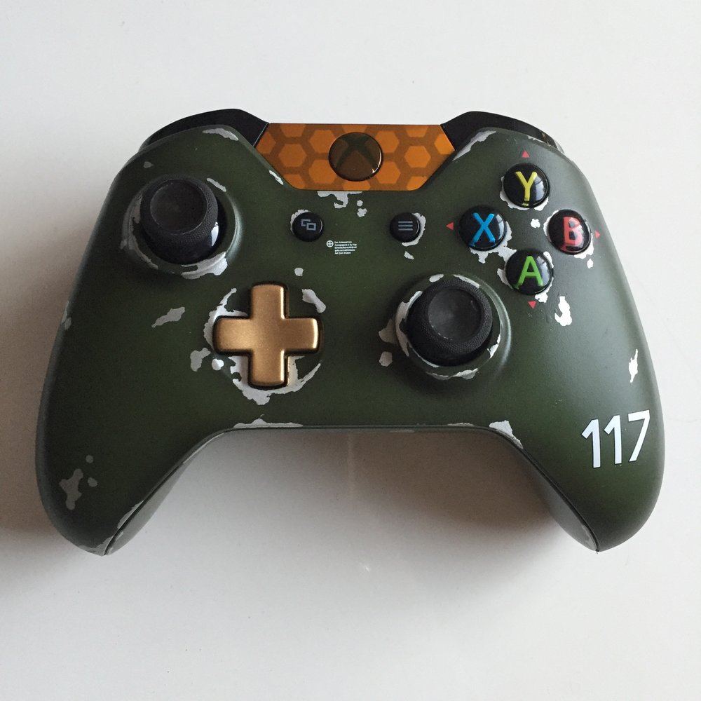 Halo Master Chief - Xbox Custom Controller