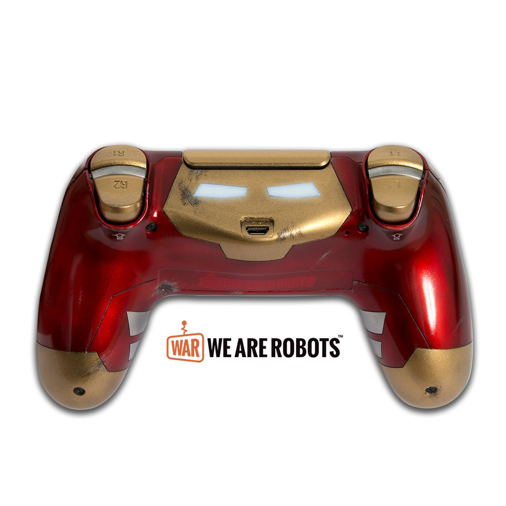 Ironman Custom Controller - We Are Robots