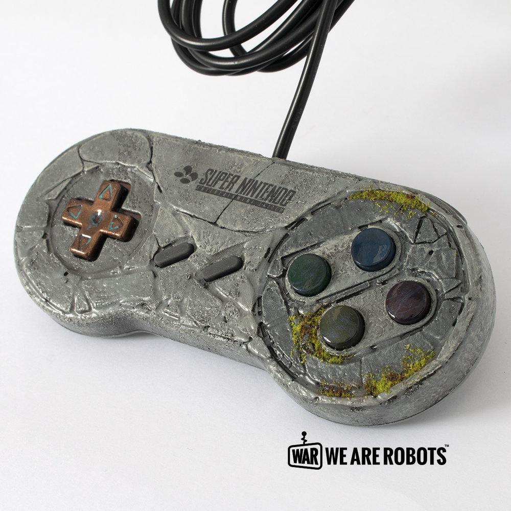 WAR Customs - Zelda SNES Controller