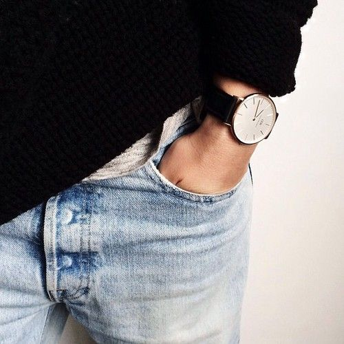 Denim and Watch