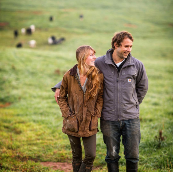 Erica and Joel of Free Union Grass Farm, Virginia.  Image:  @cramerphoto   @andreahubbel
