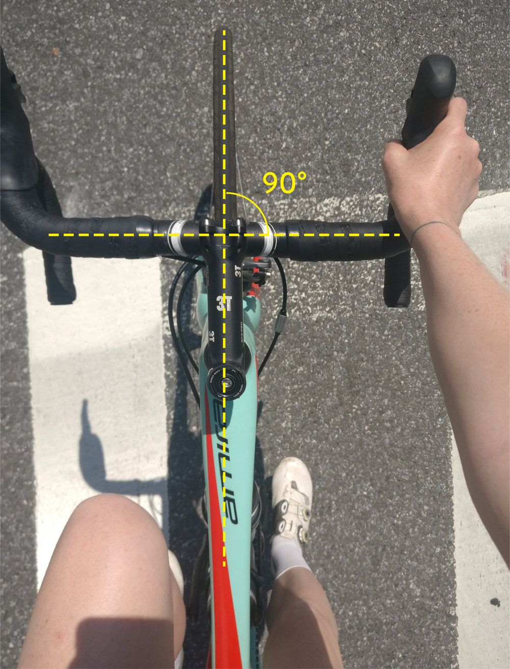 Bike Steering Alignment