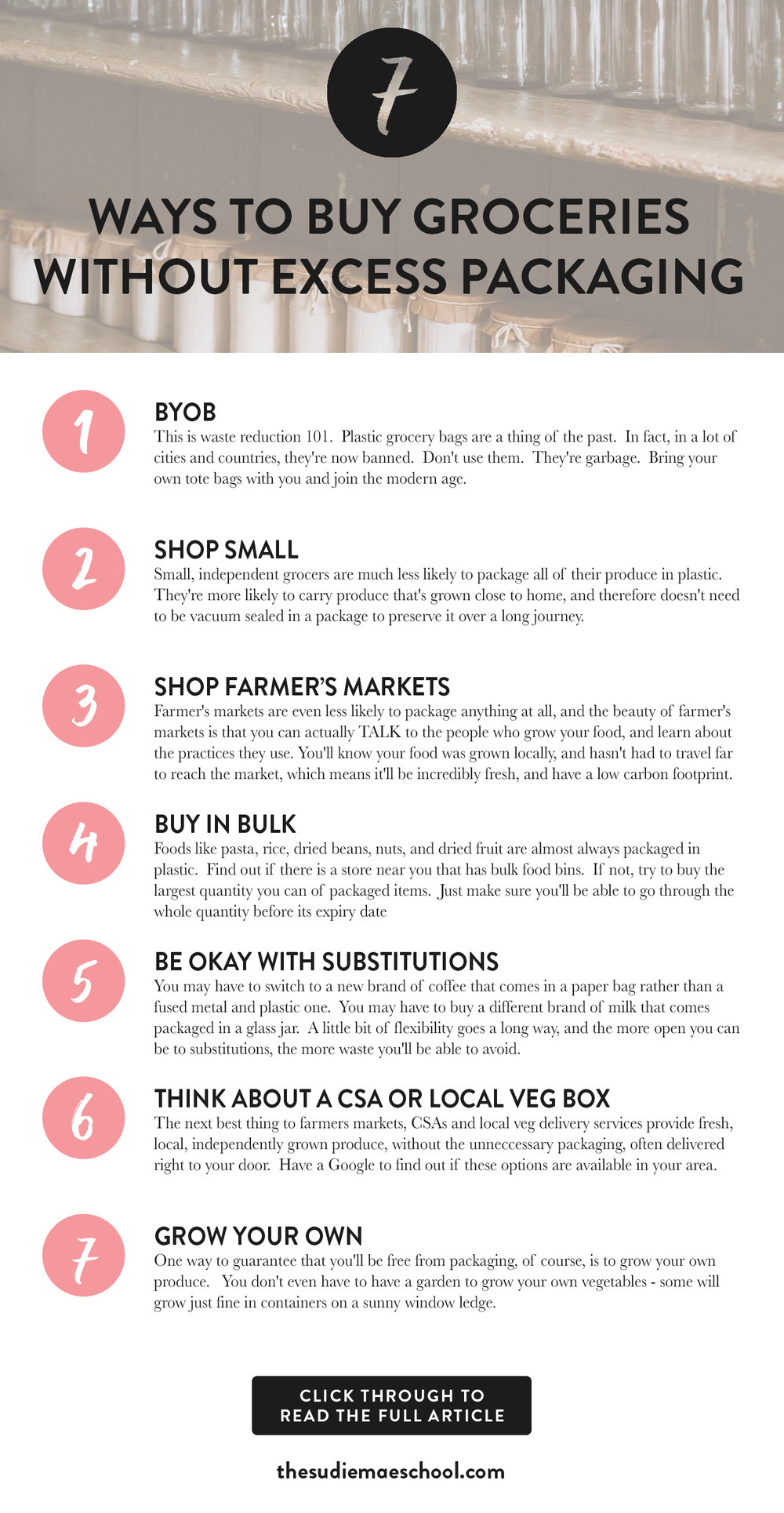 7 Ways To Buy Groceries Without Excess Packaging