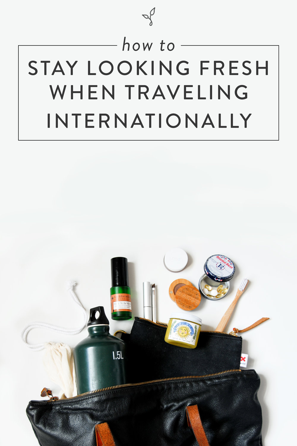 How to Stay Looking Fresh When Traveling Internationally