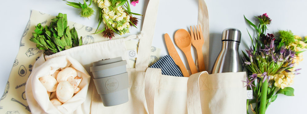 - Plastic-free products for a low waste lifestyle.