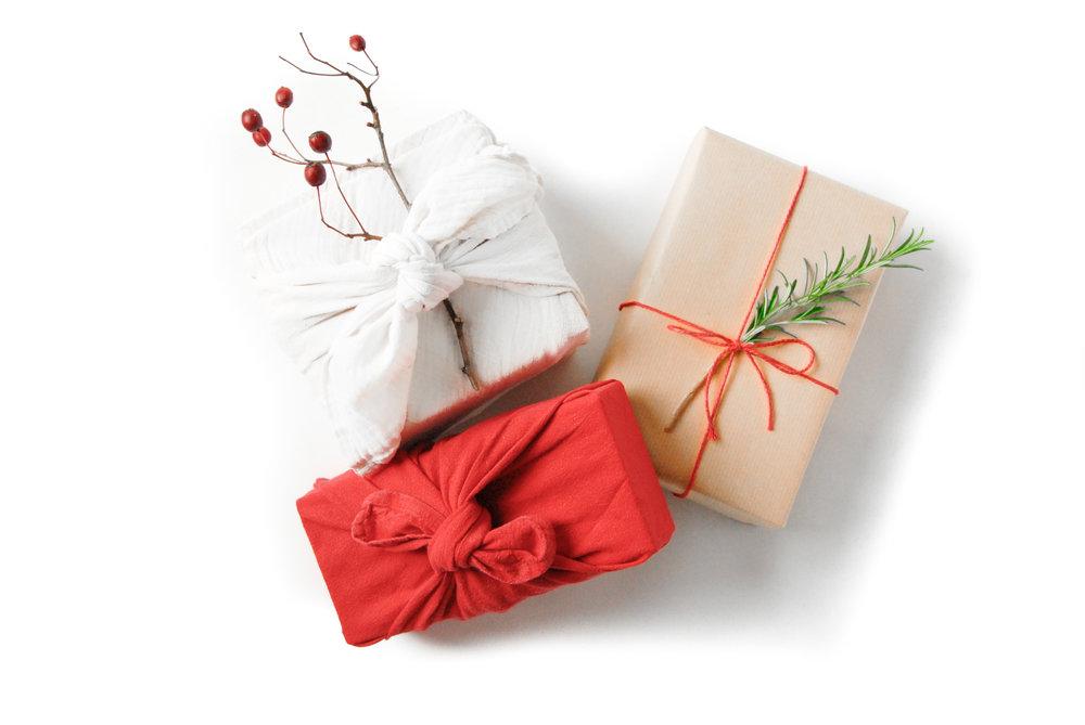 zero waste vegan christmas gifts
