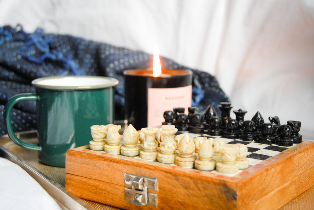 hygge chess tea
