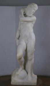 Apollo/David , Michelangelo Buonarroti, 1530. Museo Nazionale di Bargello, Florence