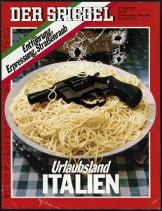 An article on terrorism in Italy, Der Spiegel, 1977