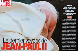 The death of Pope John Paul II, Paris Match, 2005