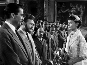 Freeze frame from  Roman Holiday  [Source]