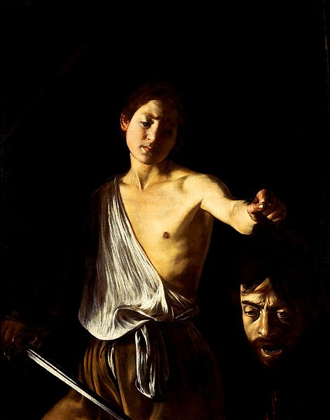 David with the Head of Goliath , Michelangelo Merisi da Caravaggio, 1609-1610, Galleria Borghese, Rome