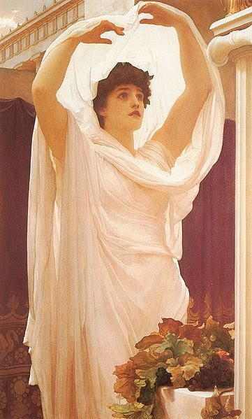 Vestal Virgin , Sir Frederic Leighton, 1880
