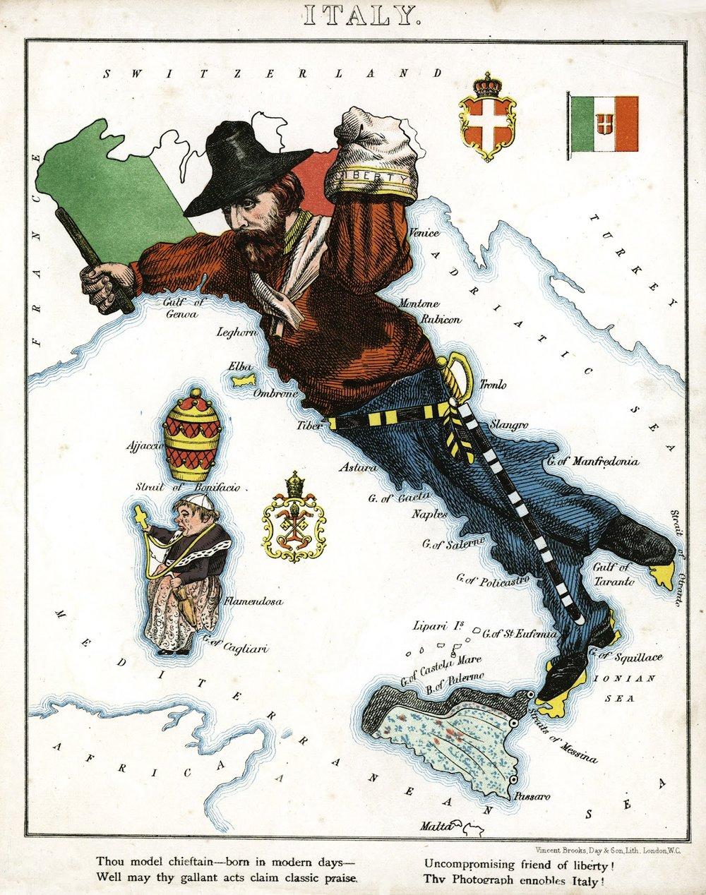Italy,  Harvey Williams, 1869