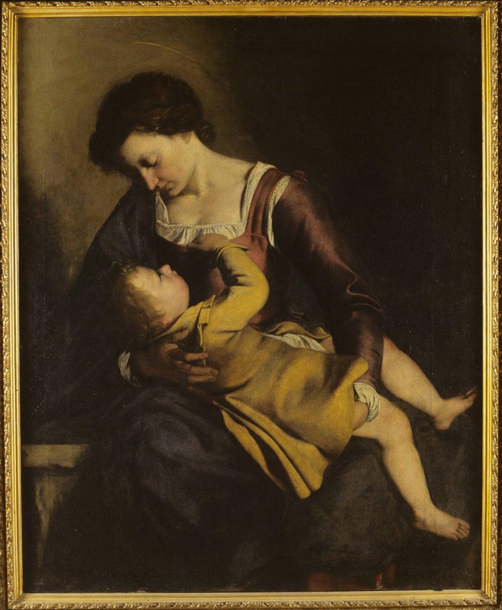 Madonna and C  hild , Orazio Gentileschi