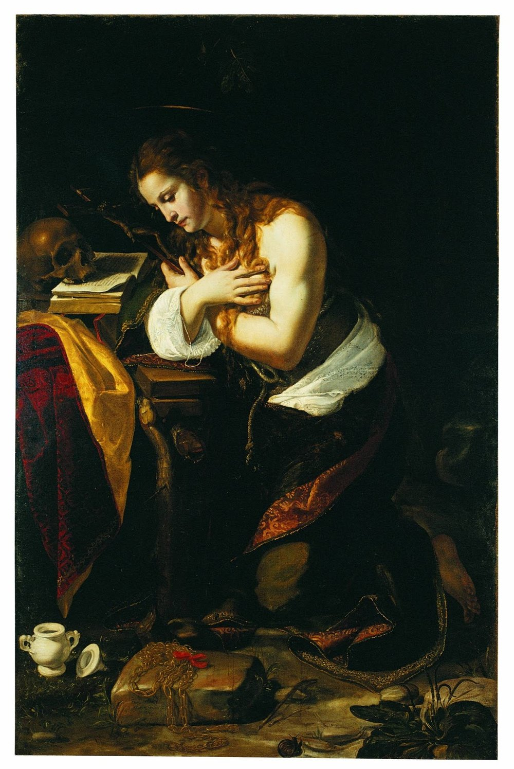 The Penitent Magdalene , Giovan Francesco Guerrieri