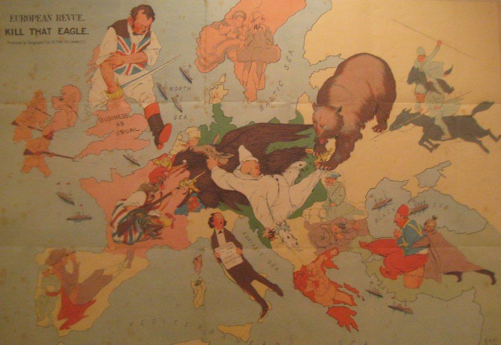 Kill that Eagle , Anonymous, European Revue, 1914