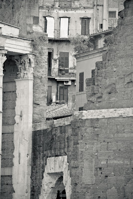 View from Via dei Fori Imperiali, photo by  Giulio Menna