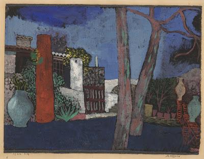 Mazzarò   , Paul Klee, 1924. San Francisco Museum of Modern Art.