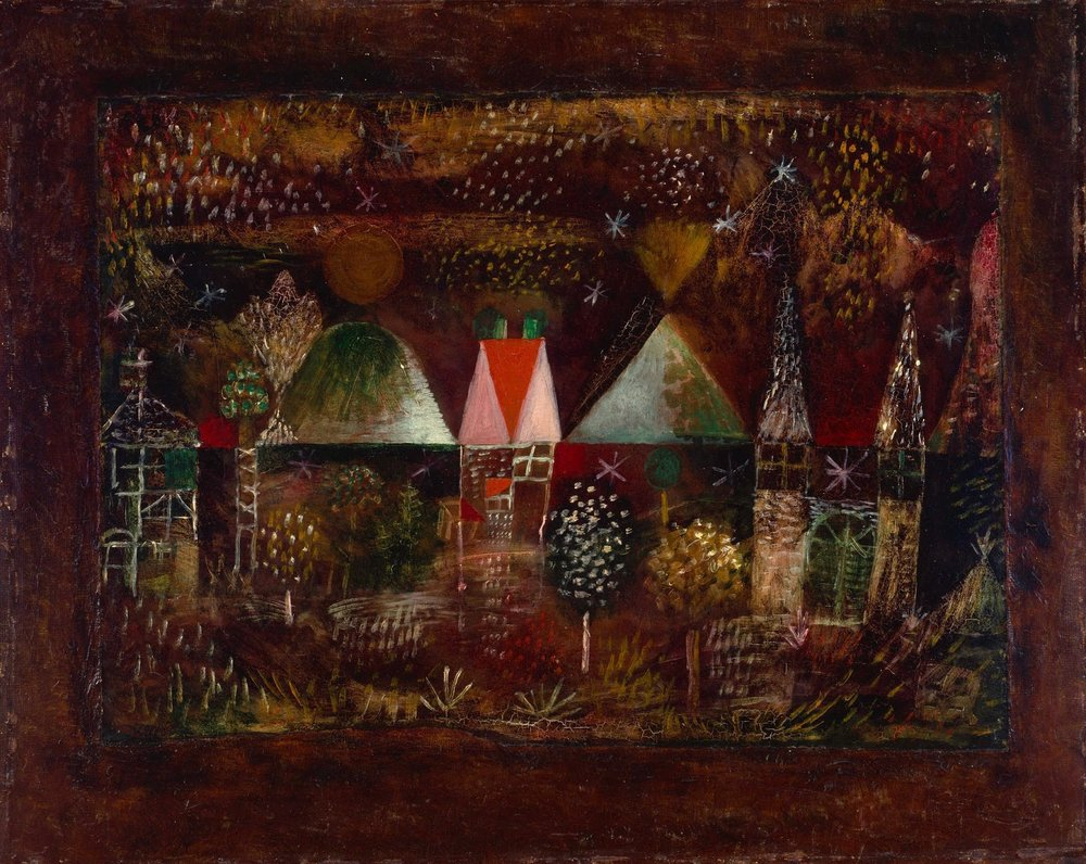 Night party , Paul Klee, 1921. Guggenheim Museum, New York.