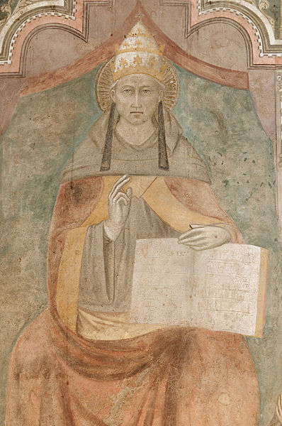 Saint Pope Celestine V, Niccolò di Tommaso, Castel Nuovo