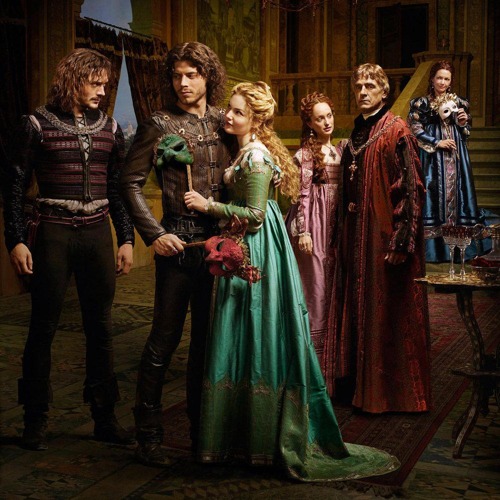The cast of Showtime's  The Borgias