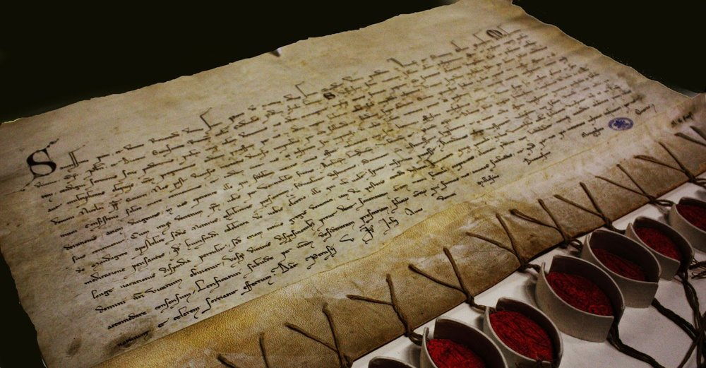 Letter to Pietro del Morrone future Pope Celestine V from Vatican Secret Archives, © Daniele Fregonese