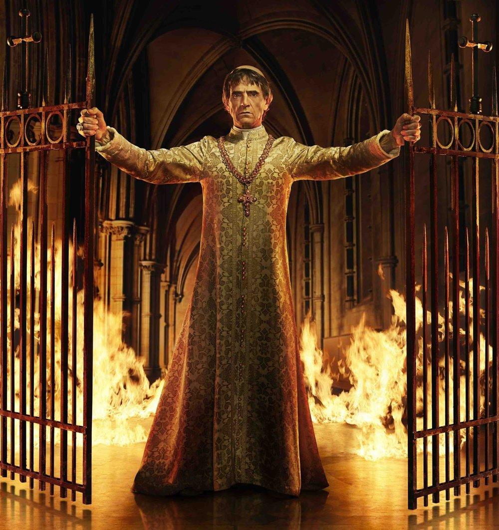 Jeremy Irons as Pope Alexander VI