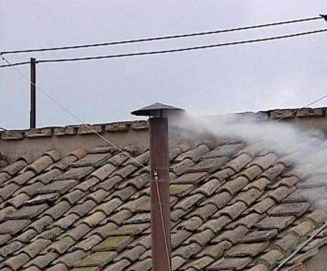 White Smoke from Sistine Chapel Chimney, Conclave 2005