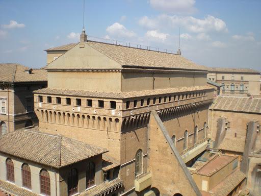 Sistine Chapel exterior, Vatican