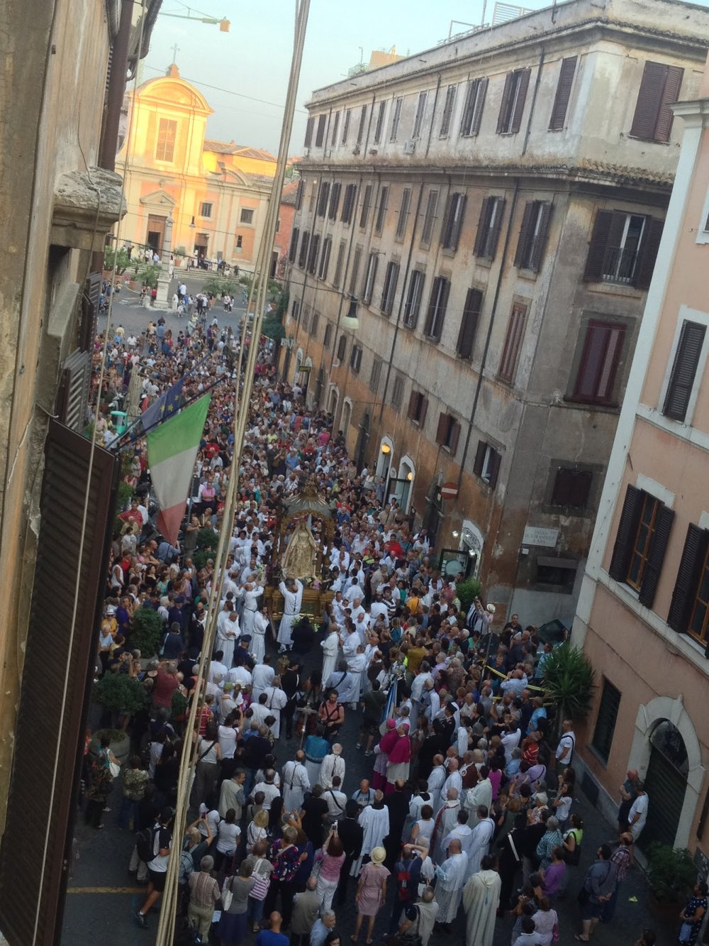 Festa de' Noantri, Via San Francesco a Ripa, 2013