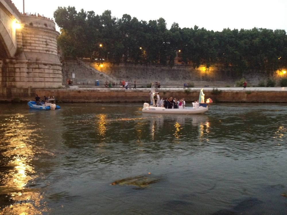 Madonna della Fiumarola, Ponte Garibaldi, 2012