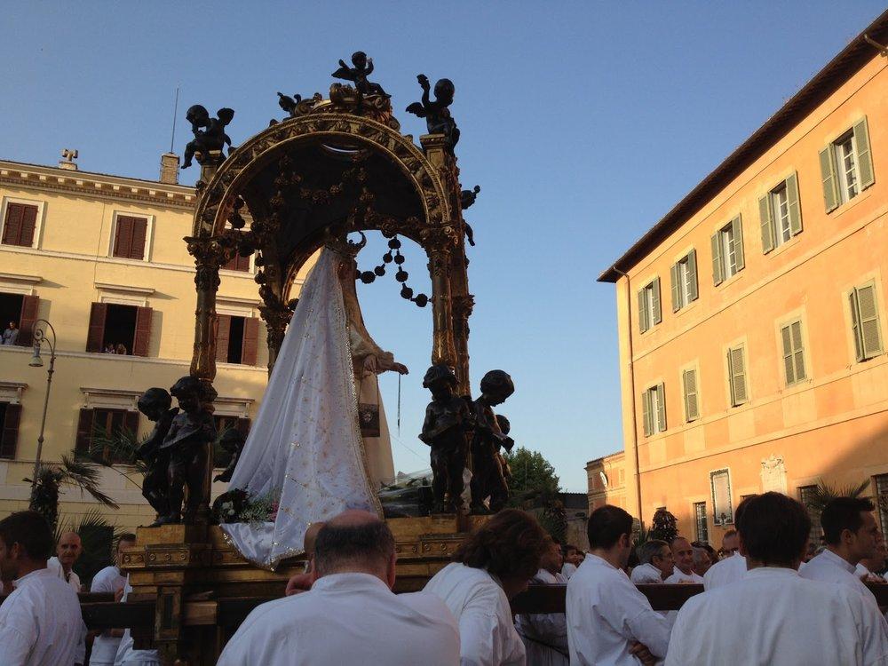 Festa de' Noantri, Pza San Francesco d'Assisi, 2012