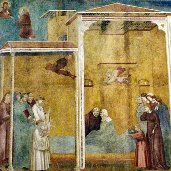 The   Woman's Confession , Giotto. Basilica of San Francesco d'Assisi, Assisi. [ source ]