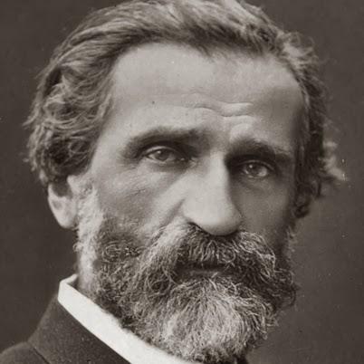 Portrait of Giuseppe Verdi. [ Source ]