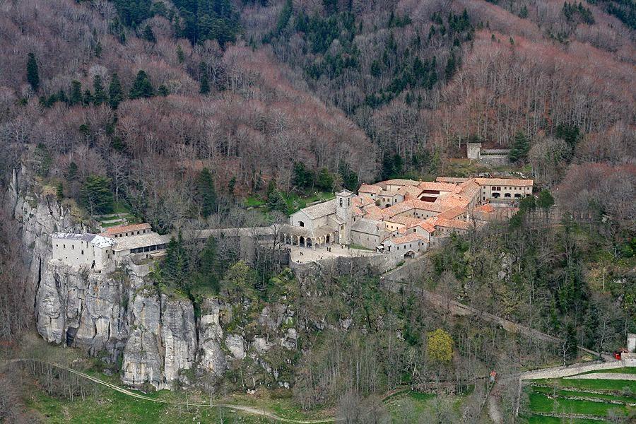 Santuario della Verna, Chiusi della Verna. [ source ]