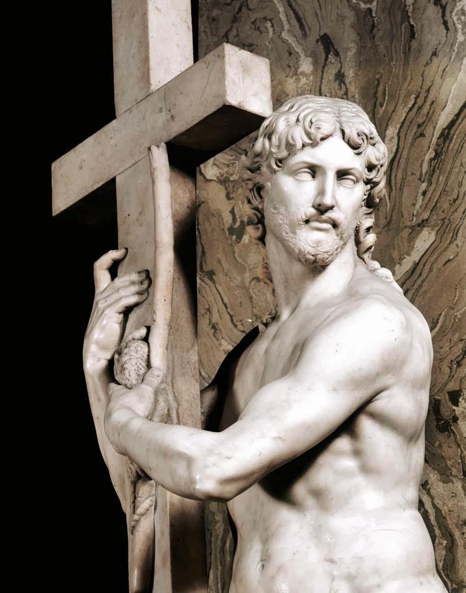 The Risen Christ , Michelangelo, Santa Maria sopra Minerva church, Rome [ source ]