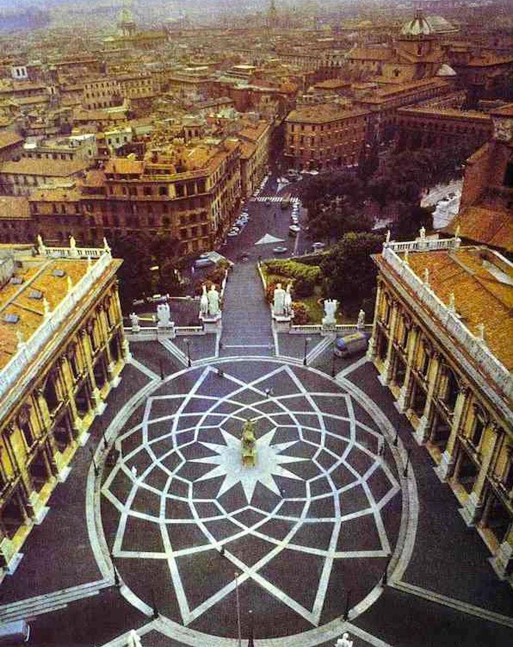 Piazza del Campidoglio, Michelangelo, Rome [ source ]
