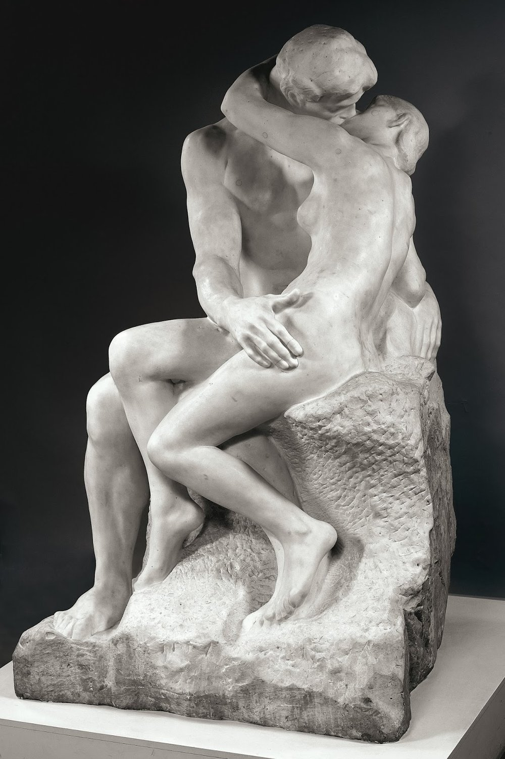 The Kiss   , Auguste Rodin, Musée Rodin, Paris