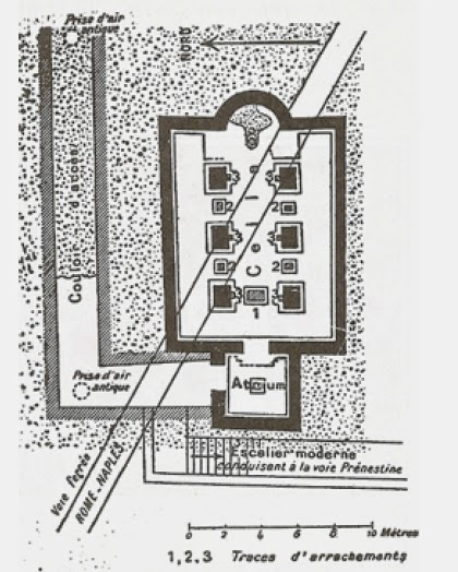 Basilica Neopitagoria, plan [ Source ]