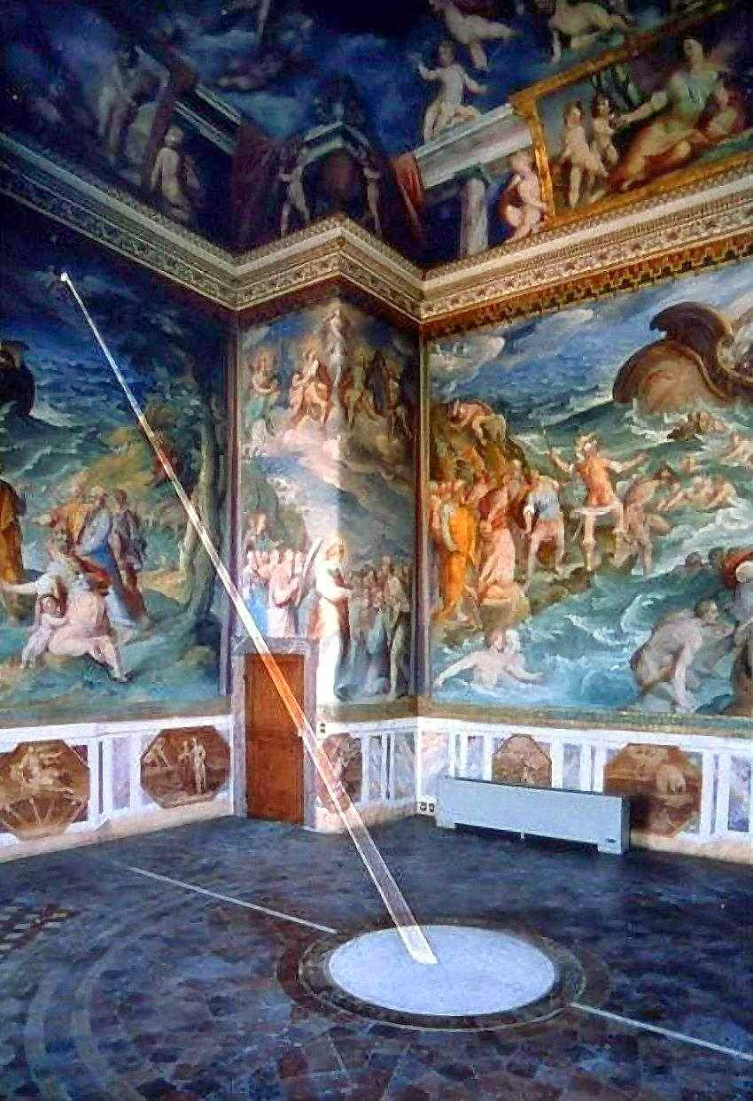 The Room of the Meridian, Tower of the Winds, Vatican. [ Source ]