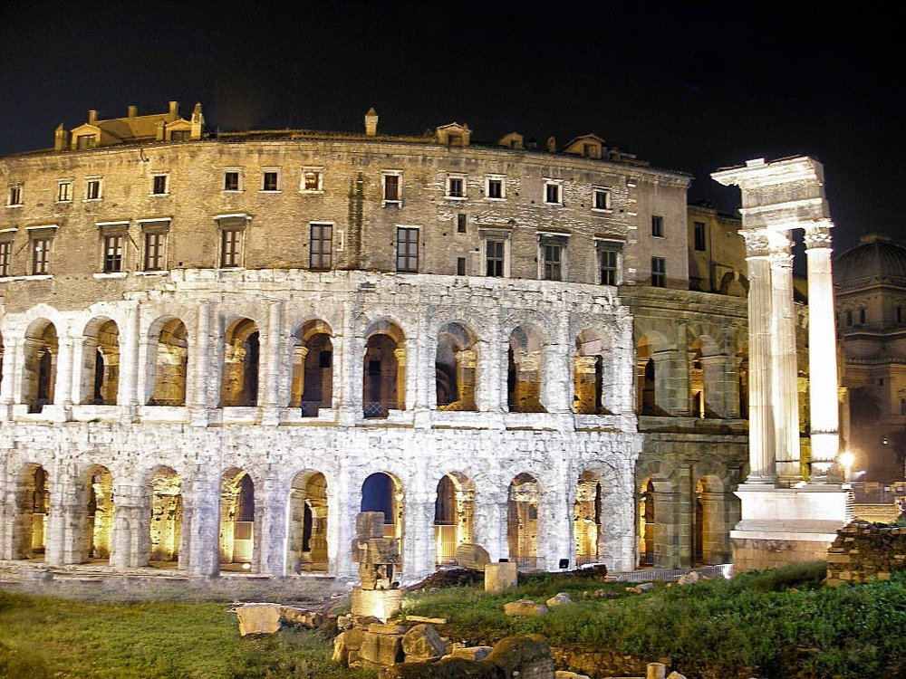 Theater of Marcellus [ source]