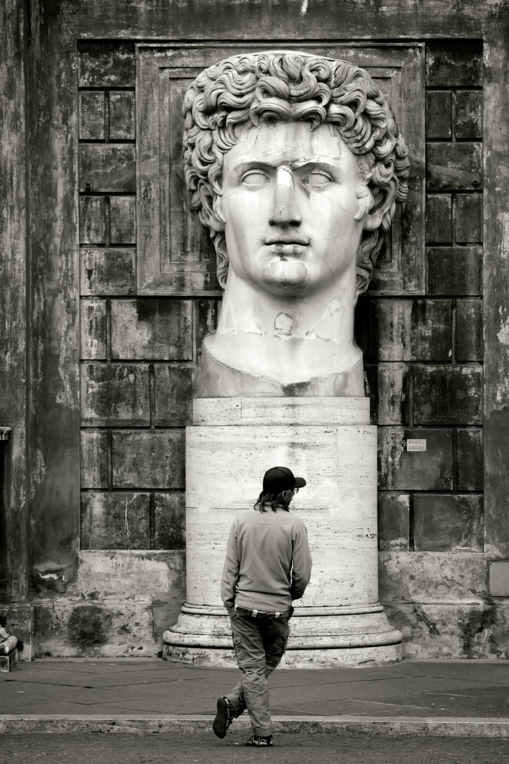 Bust of the Divine Augustus, Musei Vaticani, © Nick Thompson