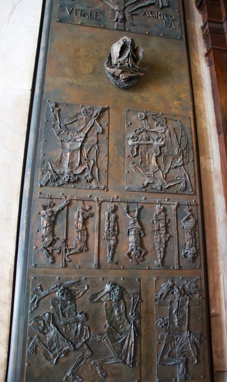 "Left ""Door of Death,"" Giacomo Manzù [ ìsource ]"