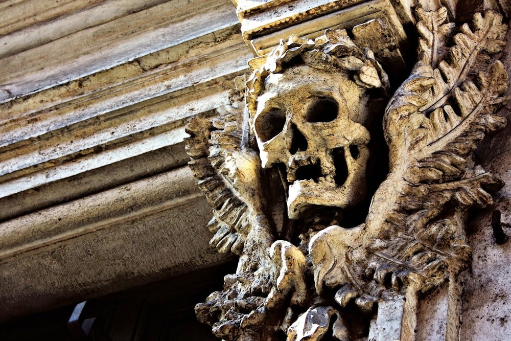 Santa Maria dell'Orazione e Morte, by Toni Bruguès