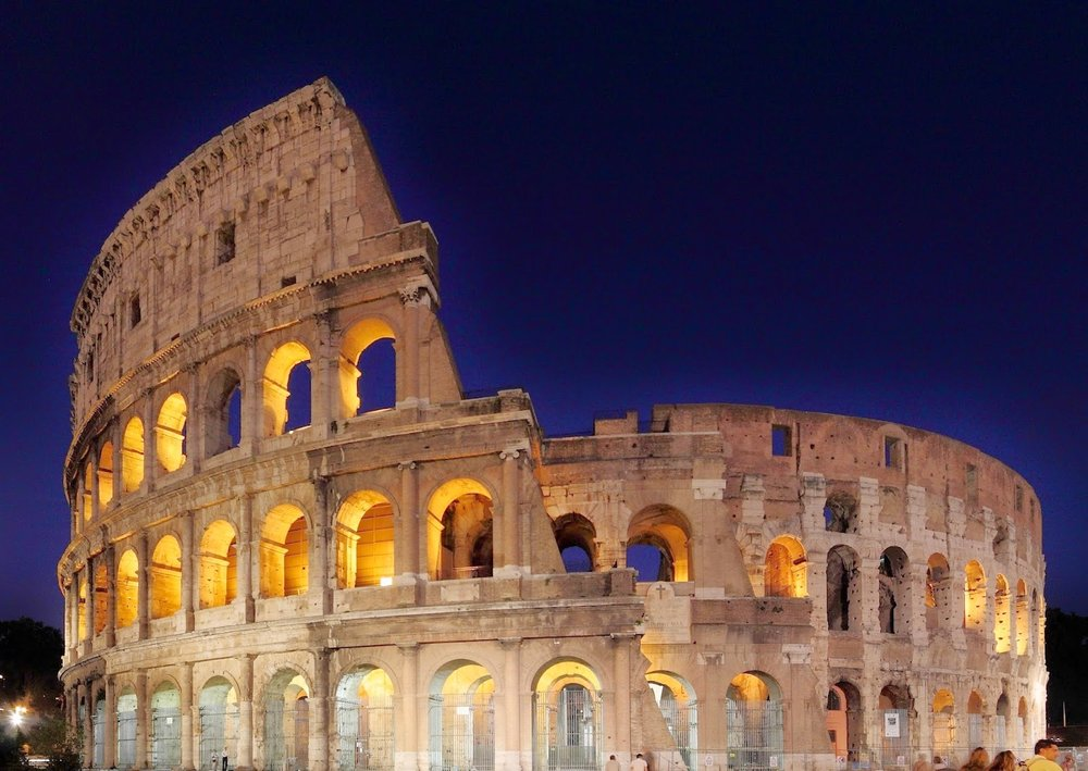 Colosseum by Night [ source ]